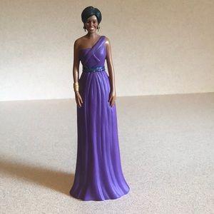 Michelle Obama Porcelain Doll